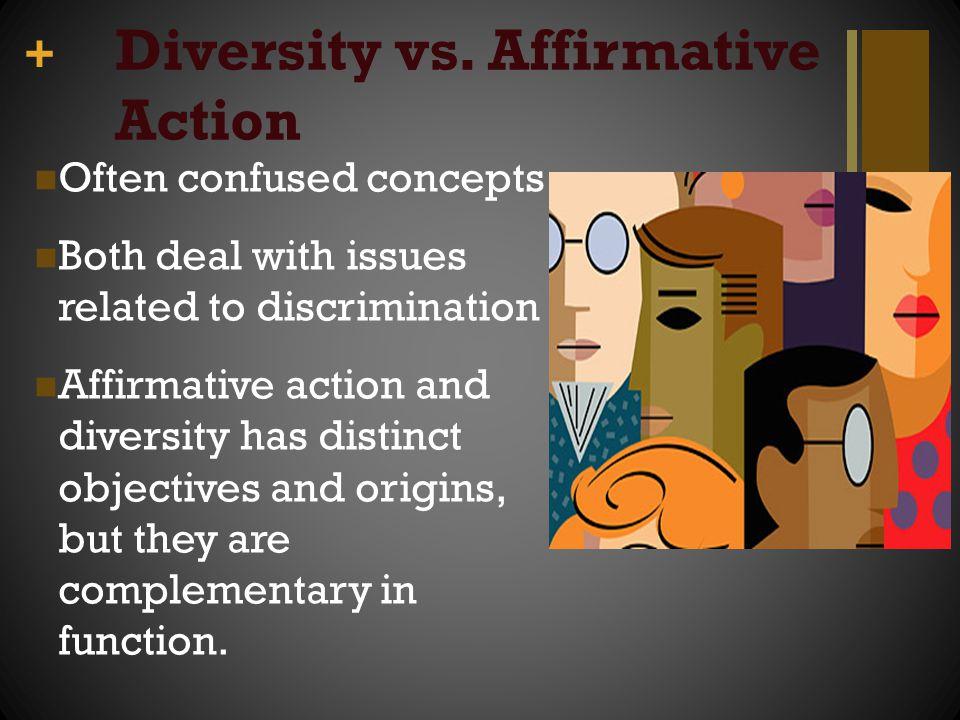 Diversity vs. Affirmative Action