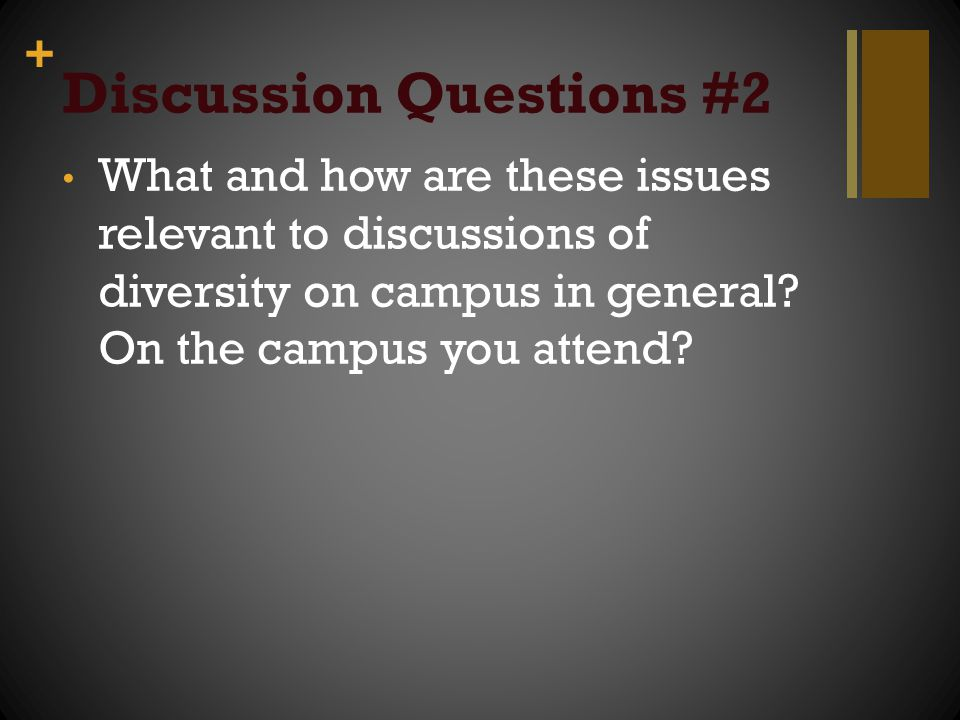 Discussion Questions #2