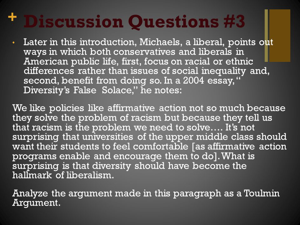 Discussion Questions #3