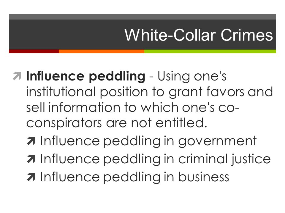social theories of white collar crime White-collar crime: theories and ideas that have been used to explain why some   the social learning theory assumes that people are born with no tendency.