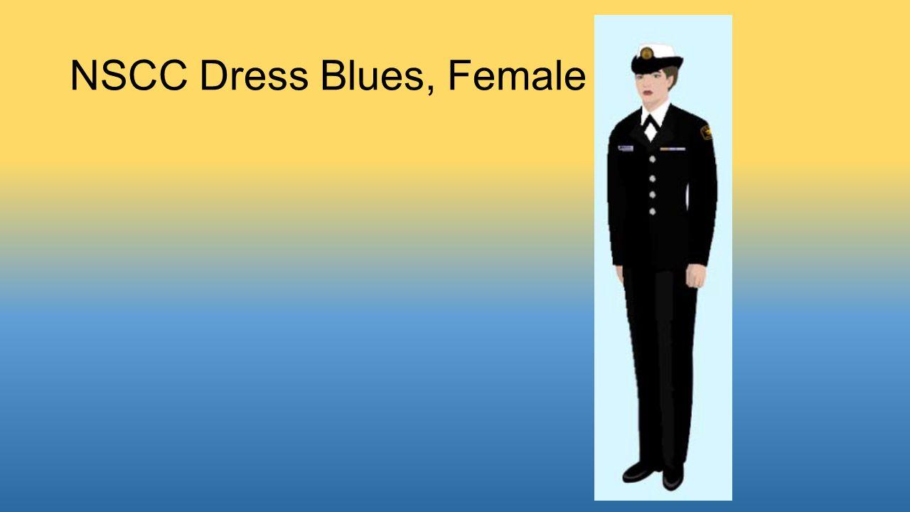 NSCC Dress Blues, Female