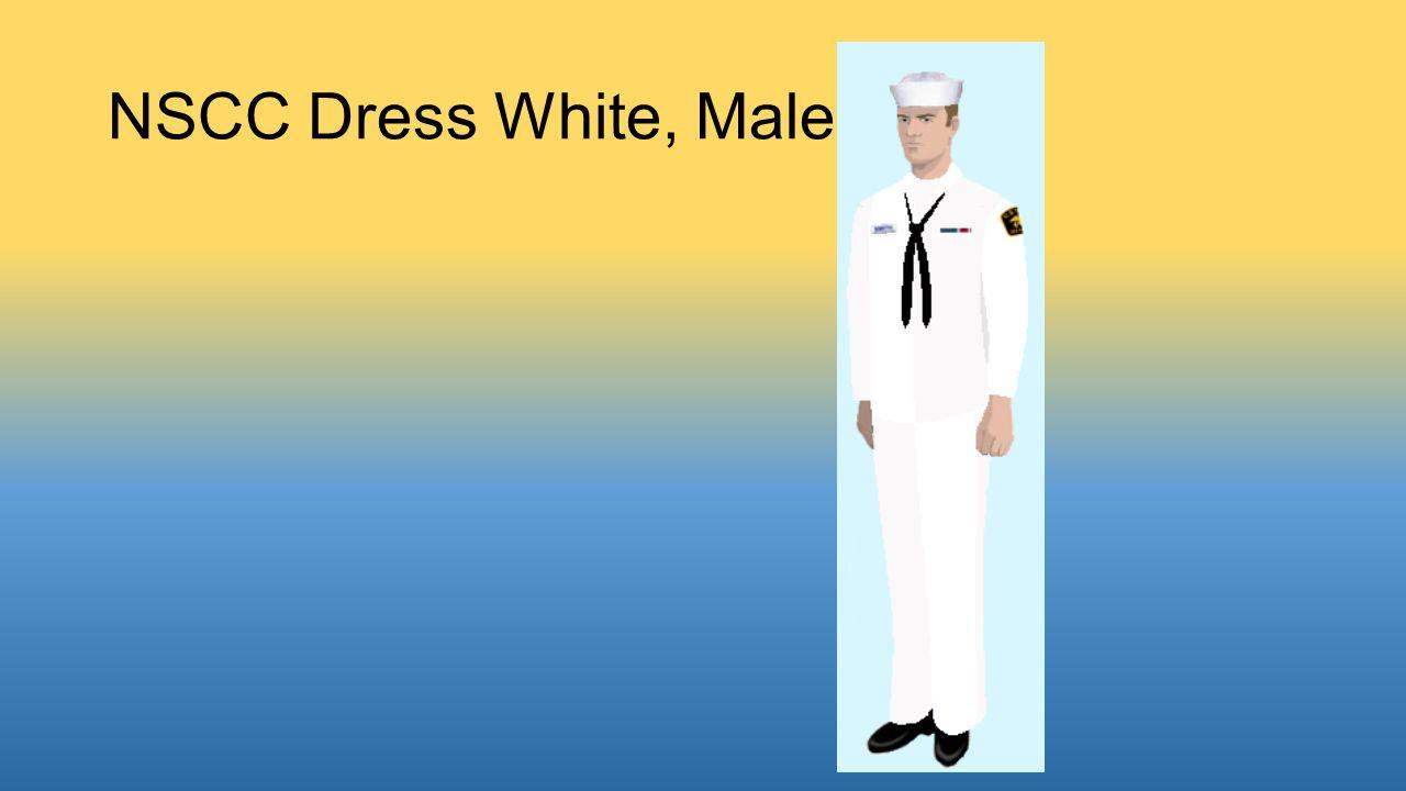 NSCC Dress White, Male