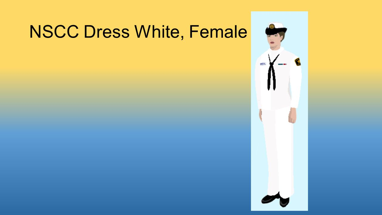 NSCC Dress White, Female