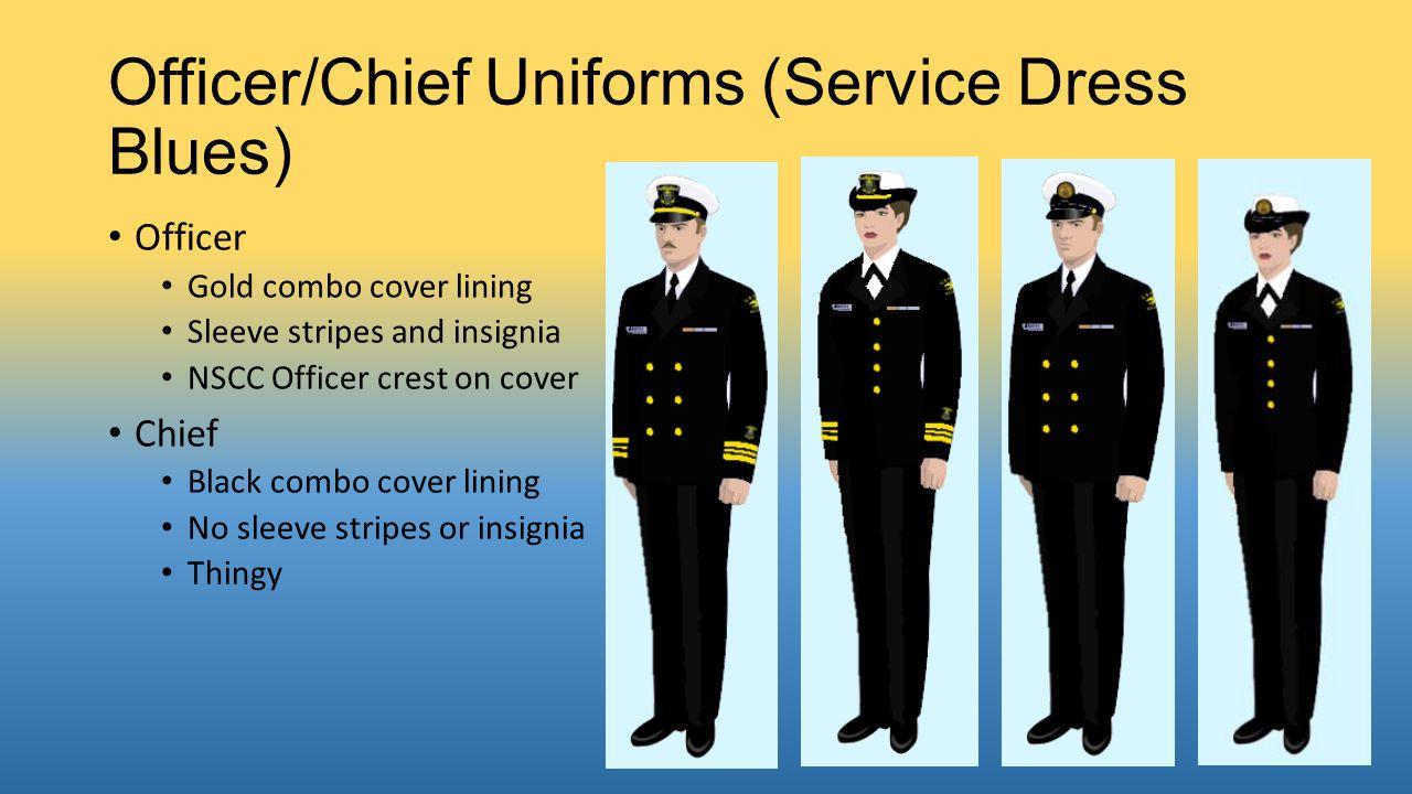 Officer/Chief Uniforms (Service Dress Blues)