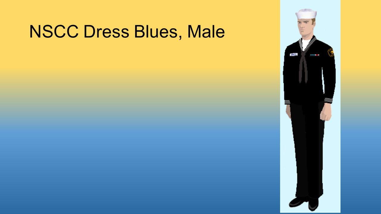 NSCC Dress Blues, Male
