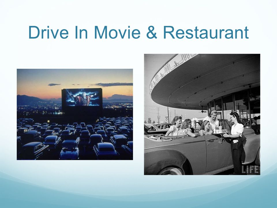 Drive In Movie & Restaurant