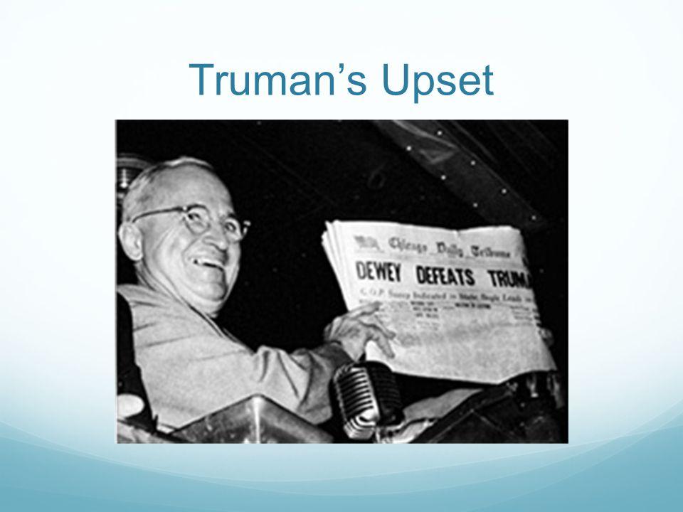 Truman's Upset