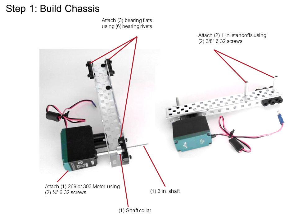 Step 1: Build Chassis Presentation Name Course Name