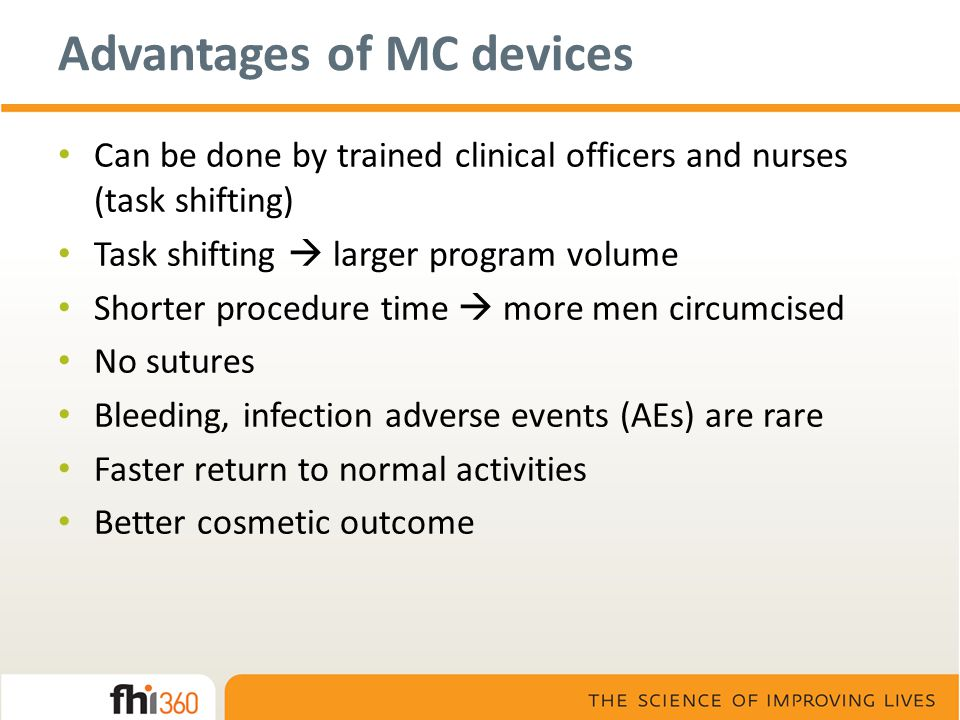 Advantages of MC devices