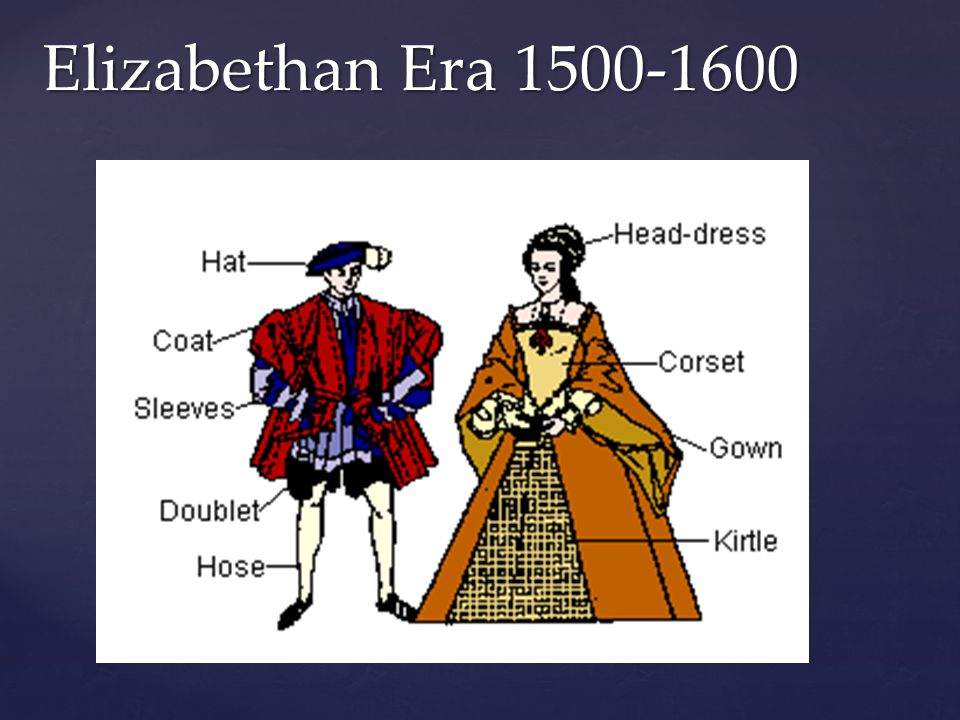 Elizabethan Era 1500-1600