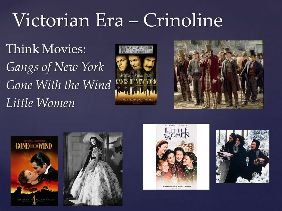 Victorian Era – Crinoline