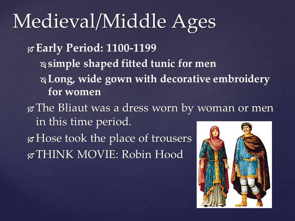 Medieval/Middle Ages Early Period: 1100-1199