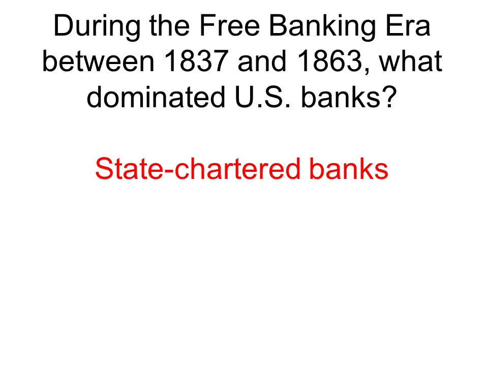 State-chartered banks