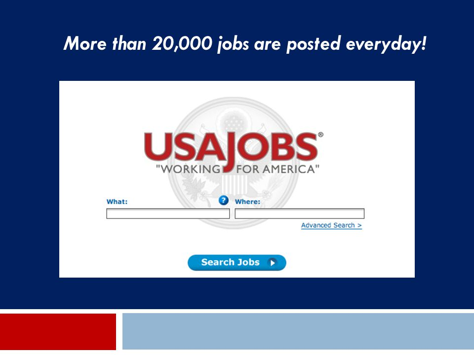 More than 20,000 jobs are posted everyday!