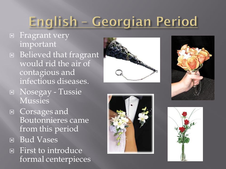 English – Georgian Period