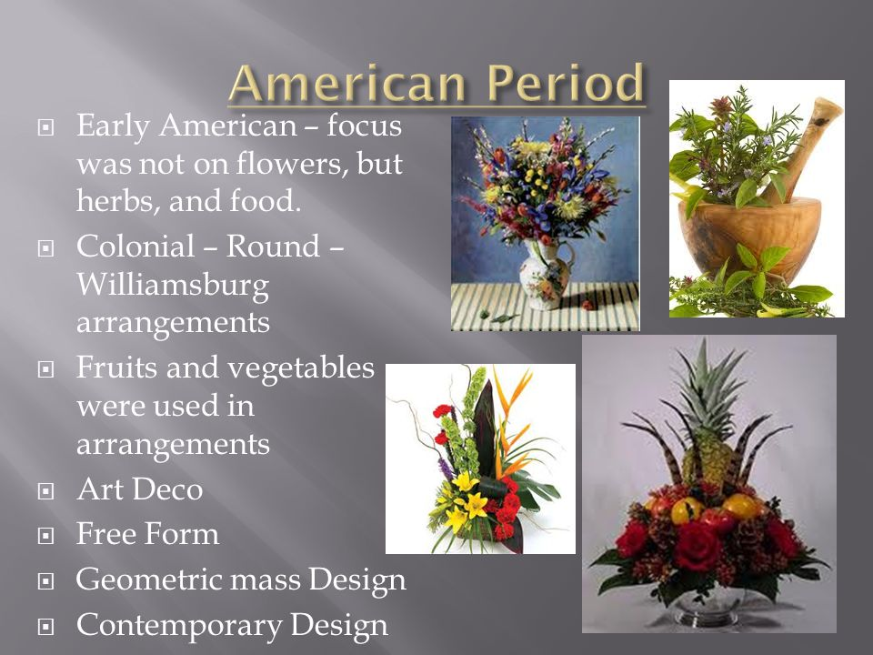 Chapter 1 History of Floral Design ppt video online download