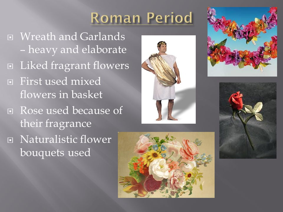 Roman Period Wreath and Garlands – heavy and elaborate