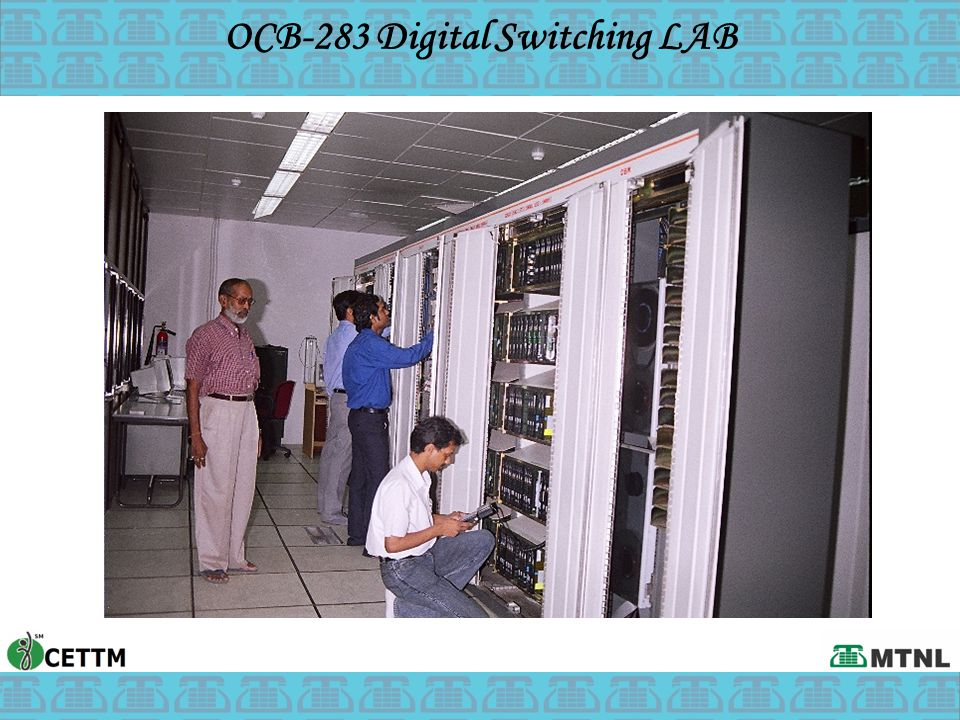 OCB-283 Digital Switching LAB