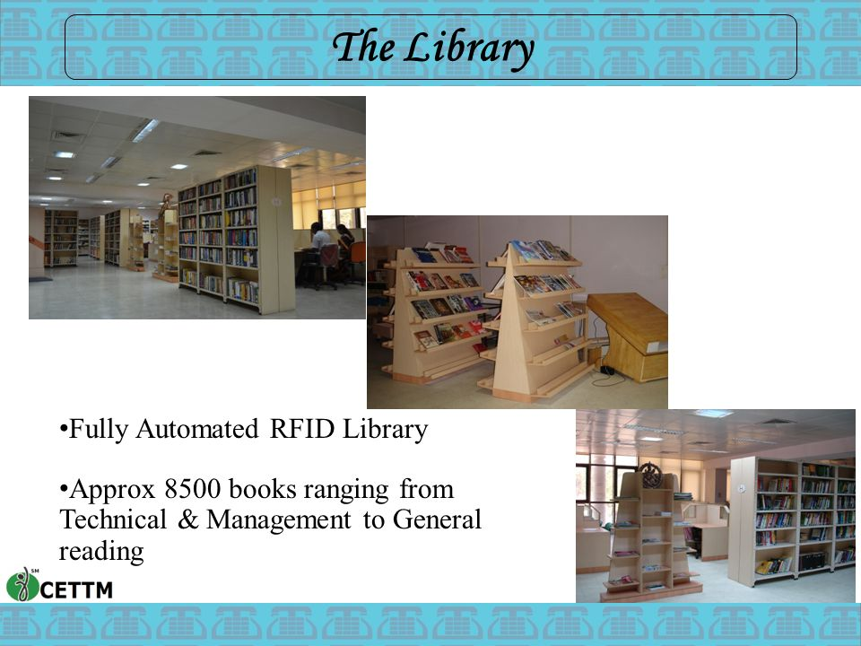 The Library Fully Automated RFID Library