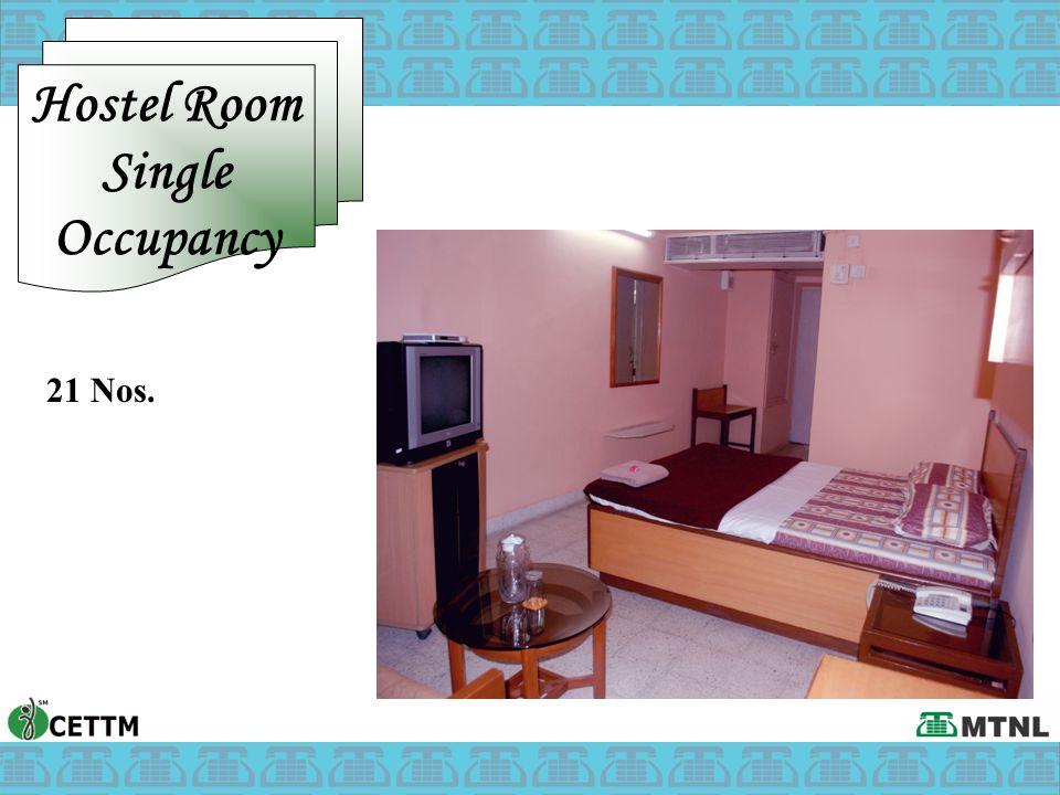 Hostel Room Single Occupancy