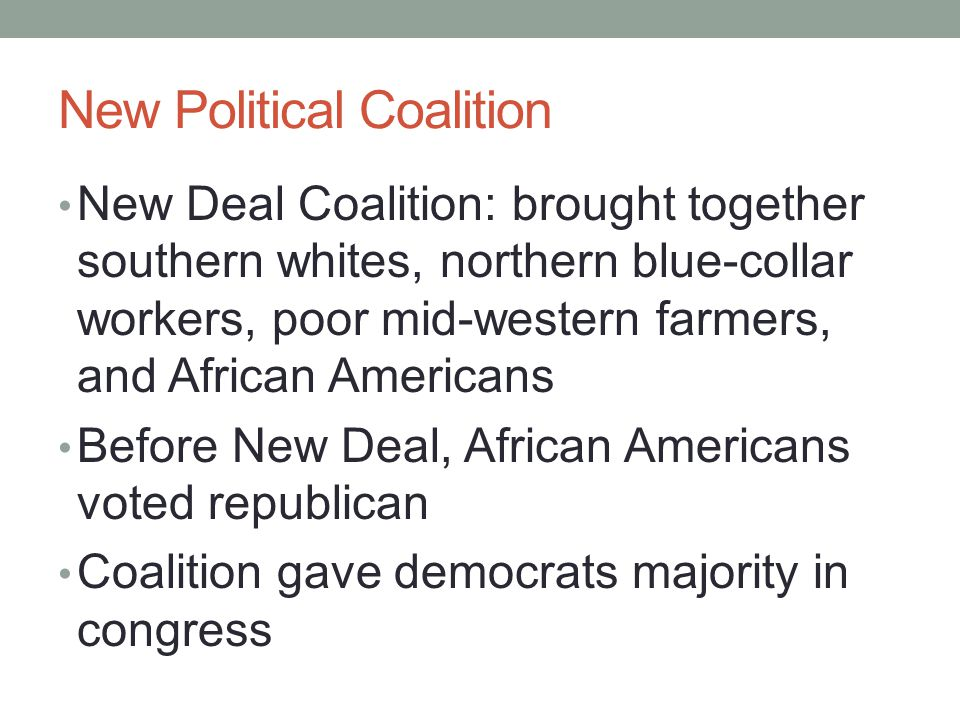 New Political Coalition