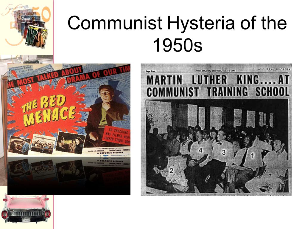 Communist Hysteria of the 1950s