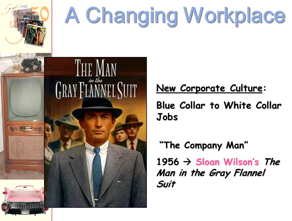 A Changing Workplace New Corporate Culture: