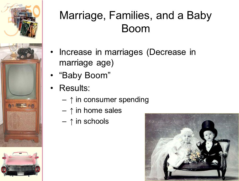 Marriage, Families, and a Baby Boom