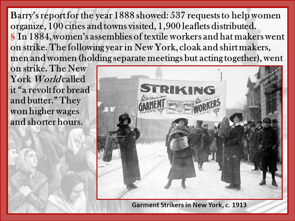 Garment Strikers in New York, c. 1913