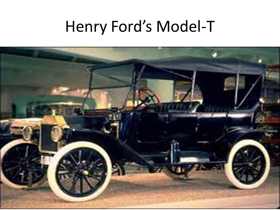 Henry Ford's Model-T