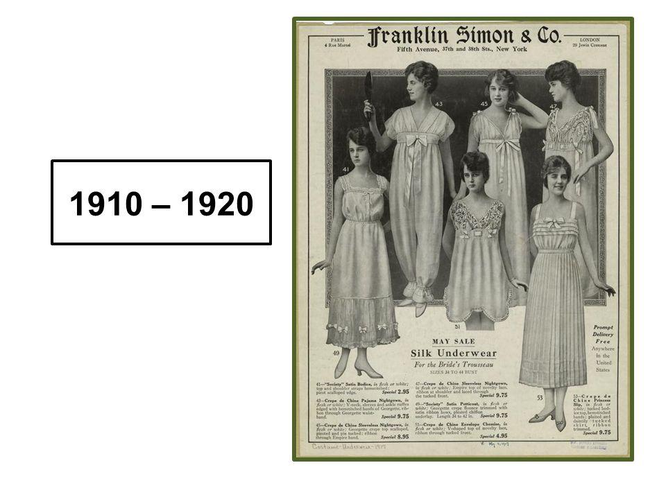 1910 – 1920
