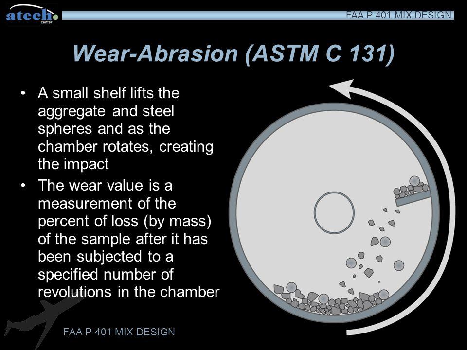 Wear-Abrasion (ASTM C 131)