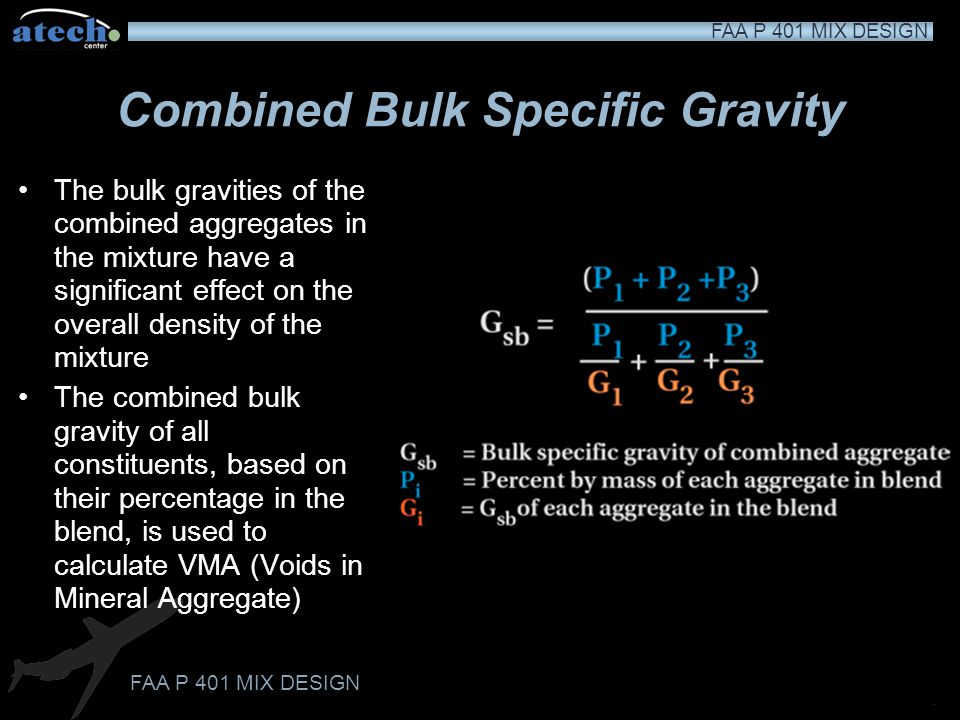Combined Bulk Specific Gravity