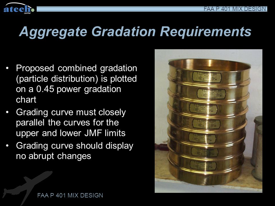 Aggregate Gradation Requirements
