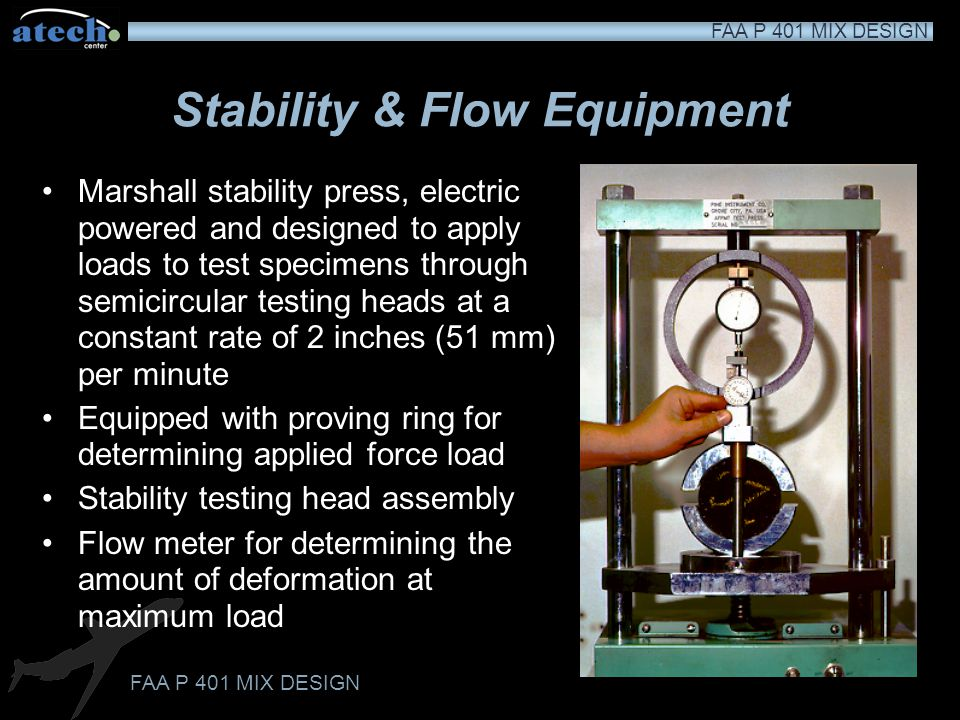 Stability & Flow Equipment
