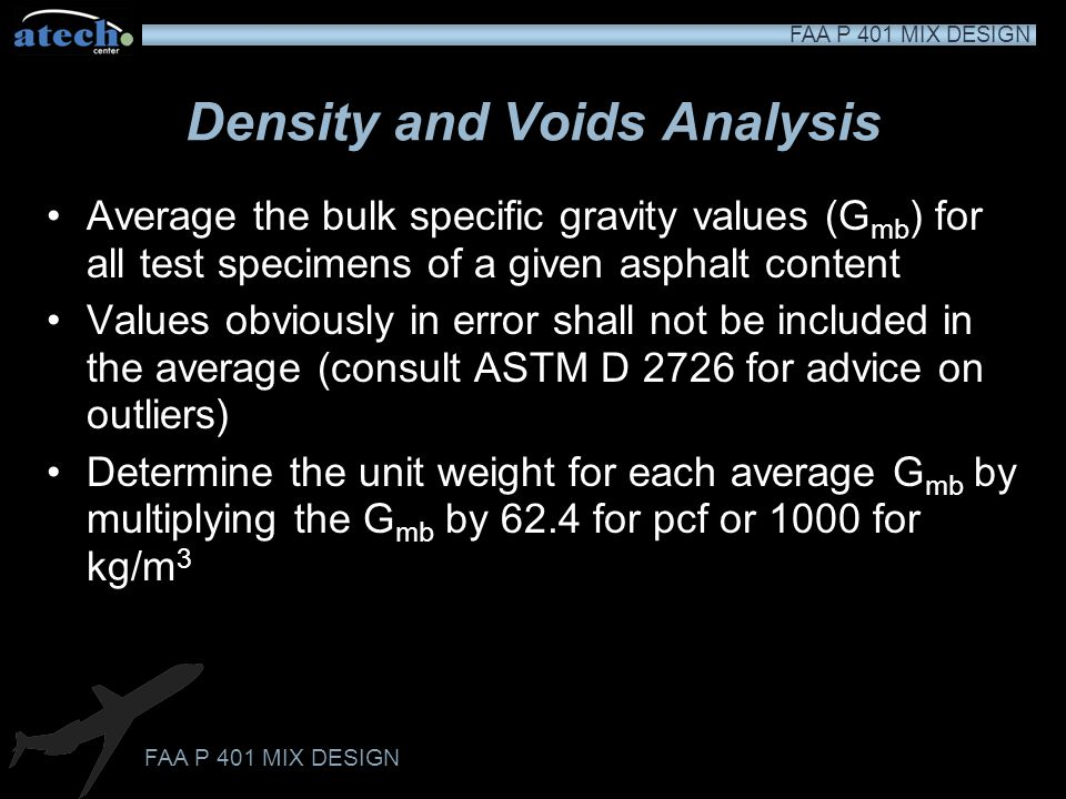 Density and Voids Analysis