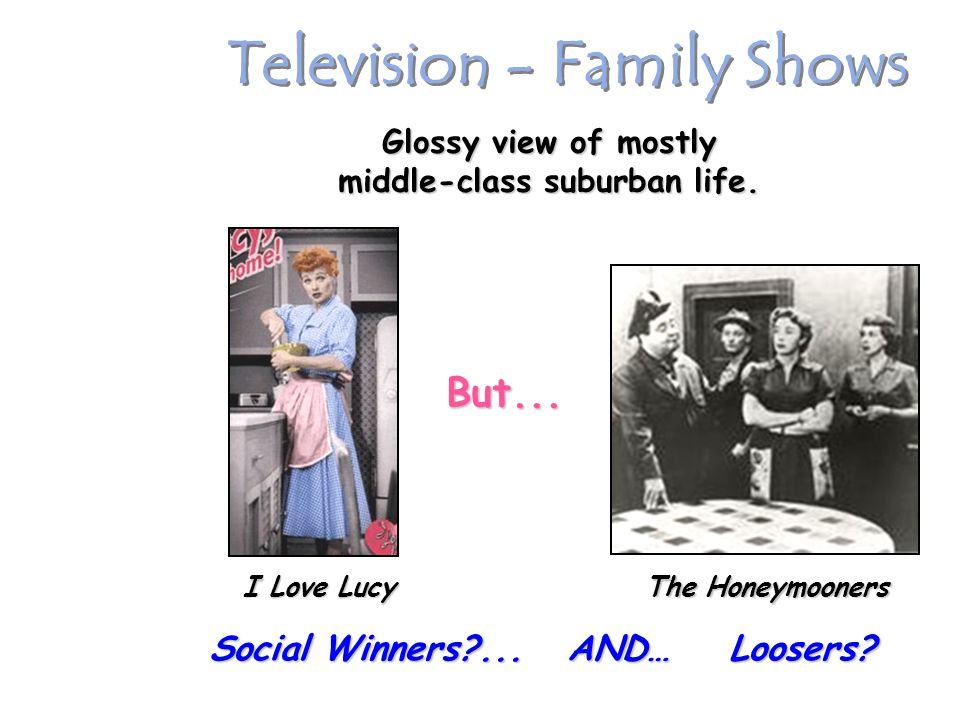 Television - Family Shows