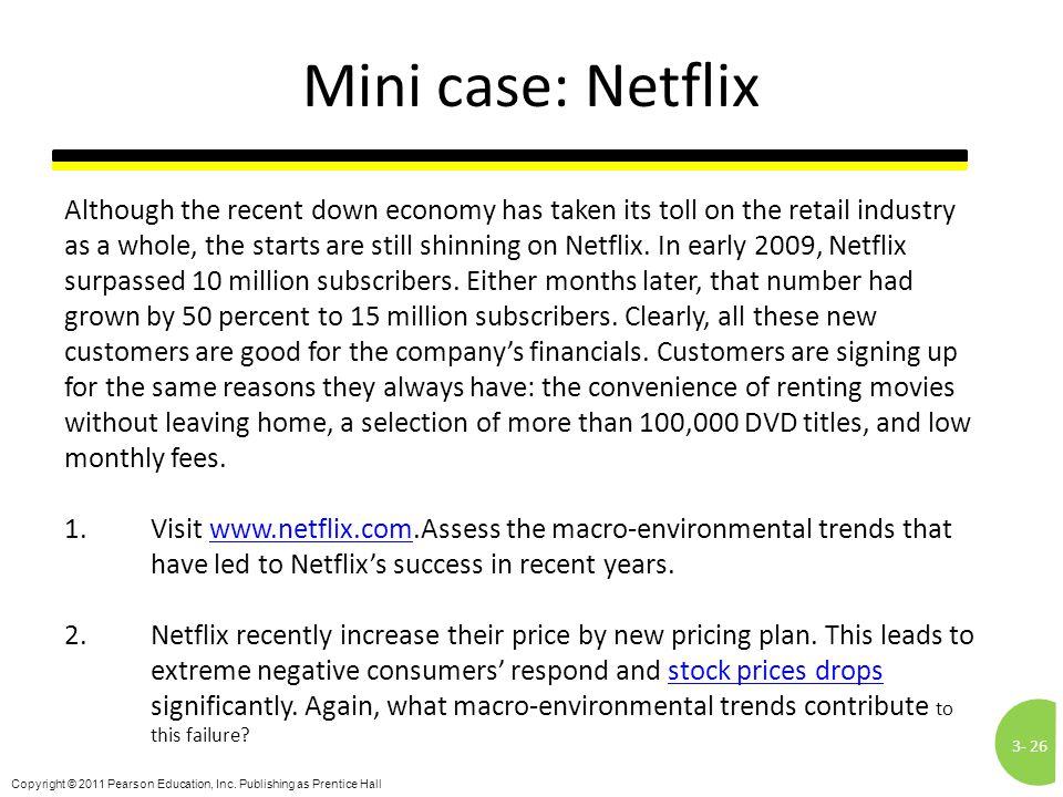 Mini case: Netflix