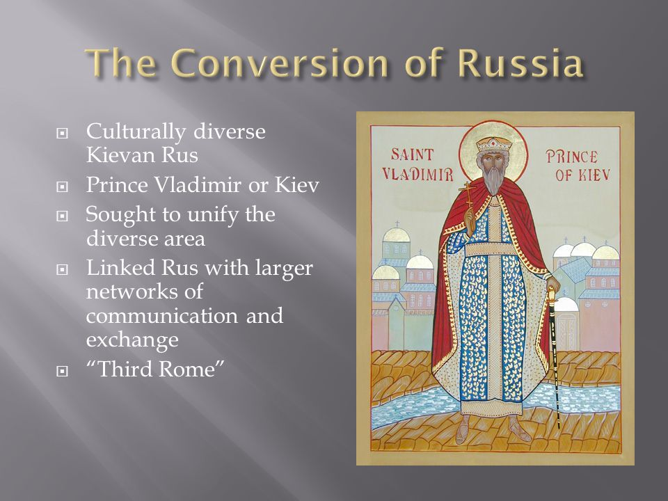 The Conversion of Russia
