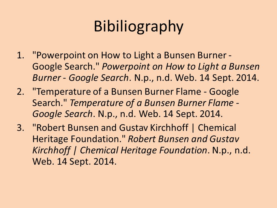 Bibiliography