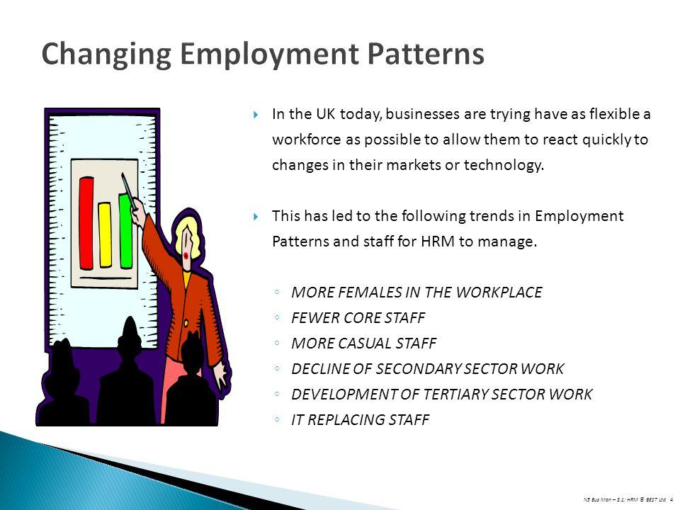 Changing Employment Patterns