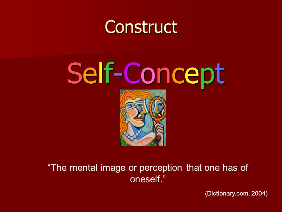 The mental image or perception that one has of oneself.