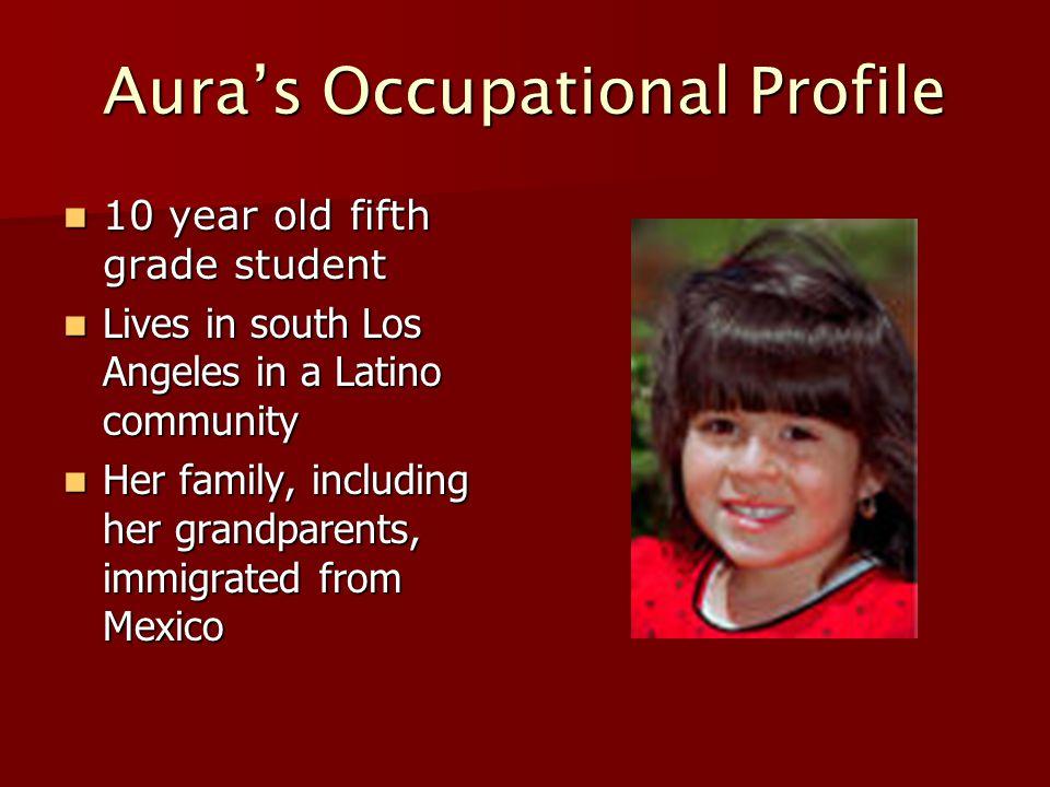 Aura's Occupational Profile