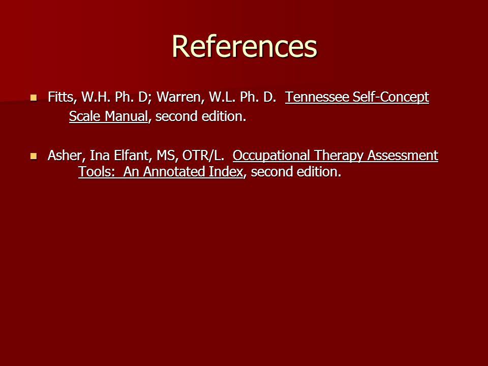 tennessee self concept scale pdf