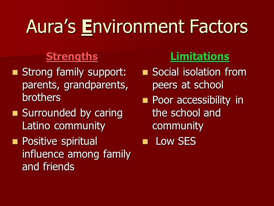 Aura's Environment Factors