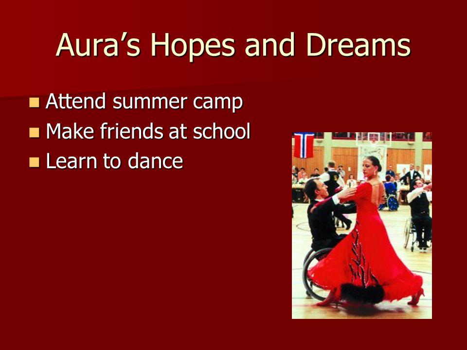 Aura's Hopes and Dreams
