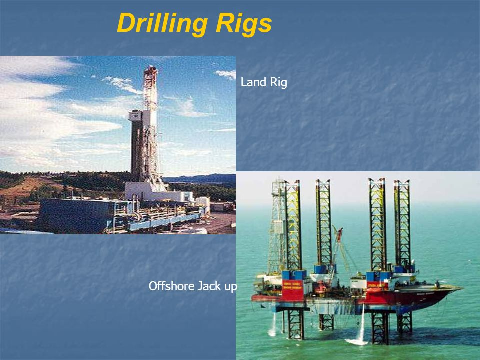Drilling Rigs Land Rig Offshore Jack up