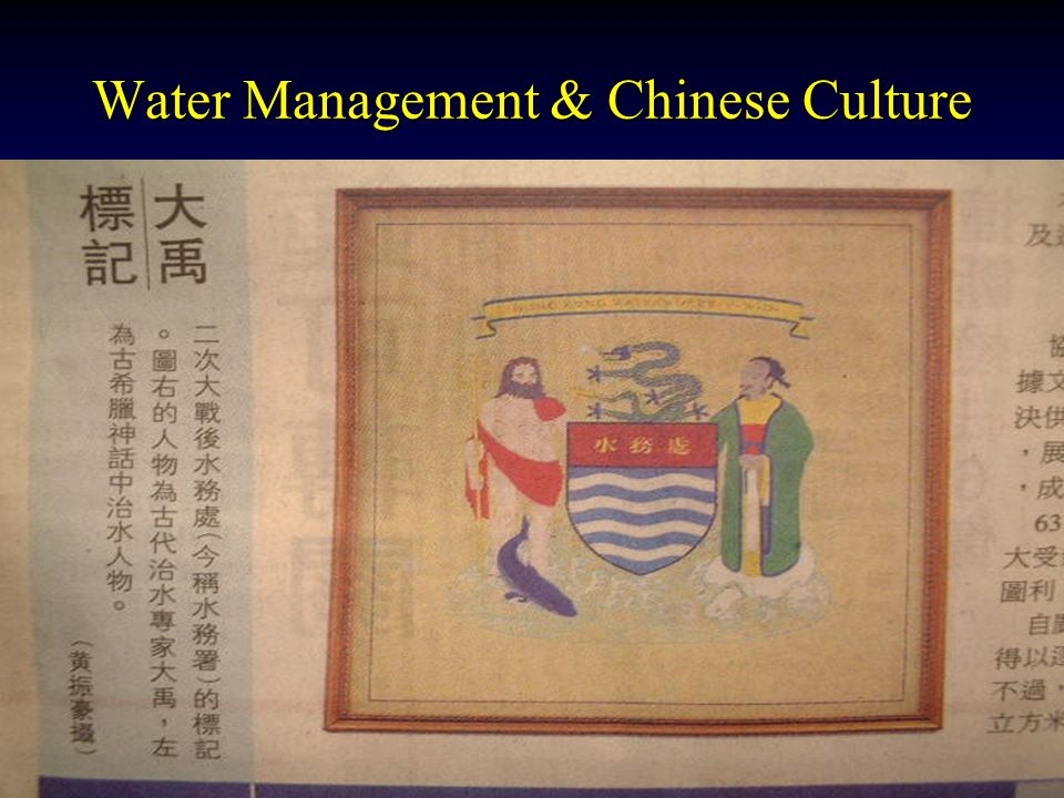 Water Management & Chinese Culture