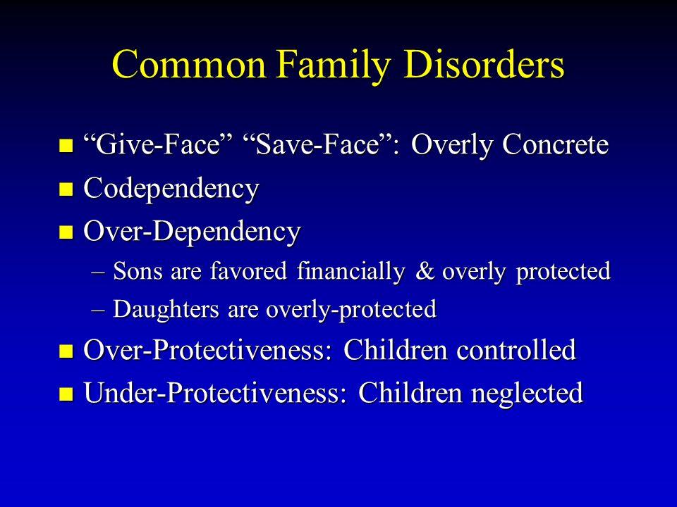 Common Family Disorders
