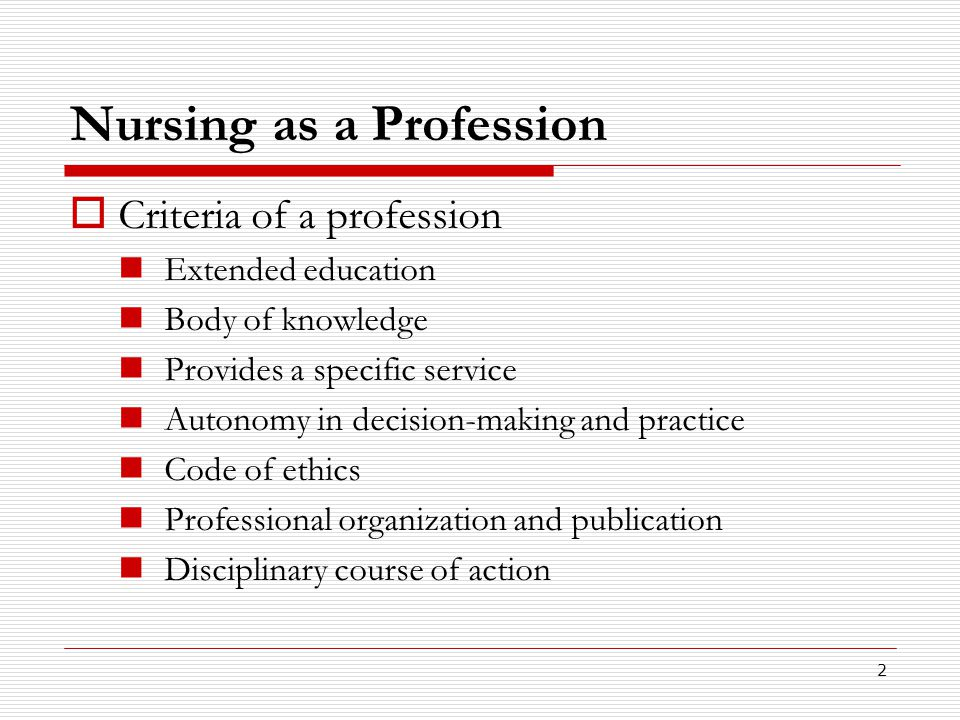 a discussion on the professional code of conduct in the nursing profession Preparing you to enter a profession which carries with it great  this guidance on professional conduct for nursing and  set out in the professional code of .